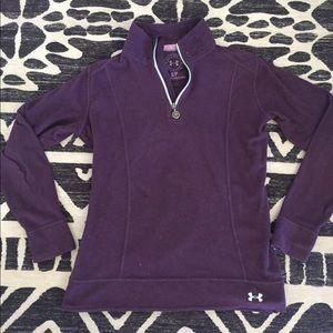Under Armour Woman's Purple Fleece